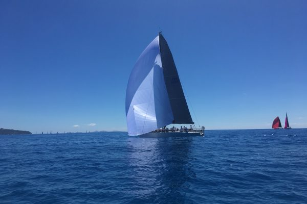 Phan Light winds sailing in St Maarten