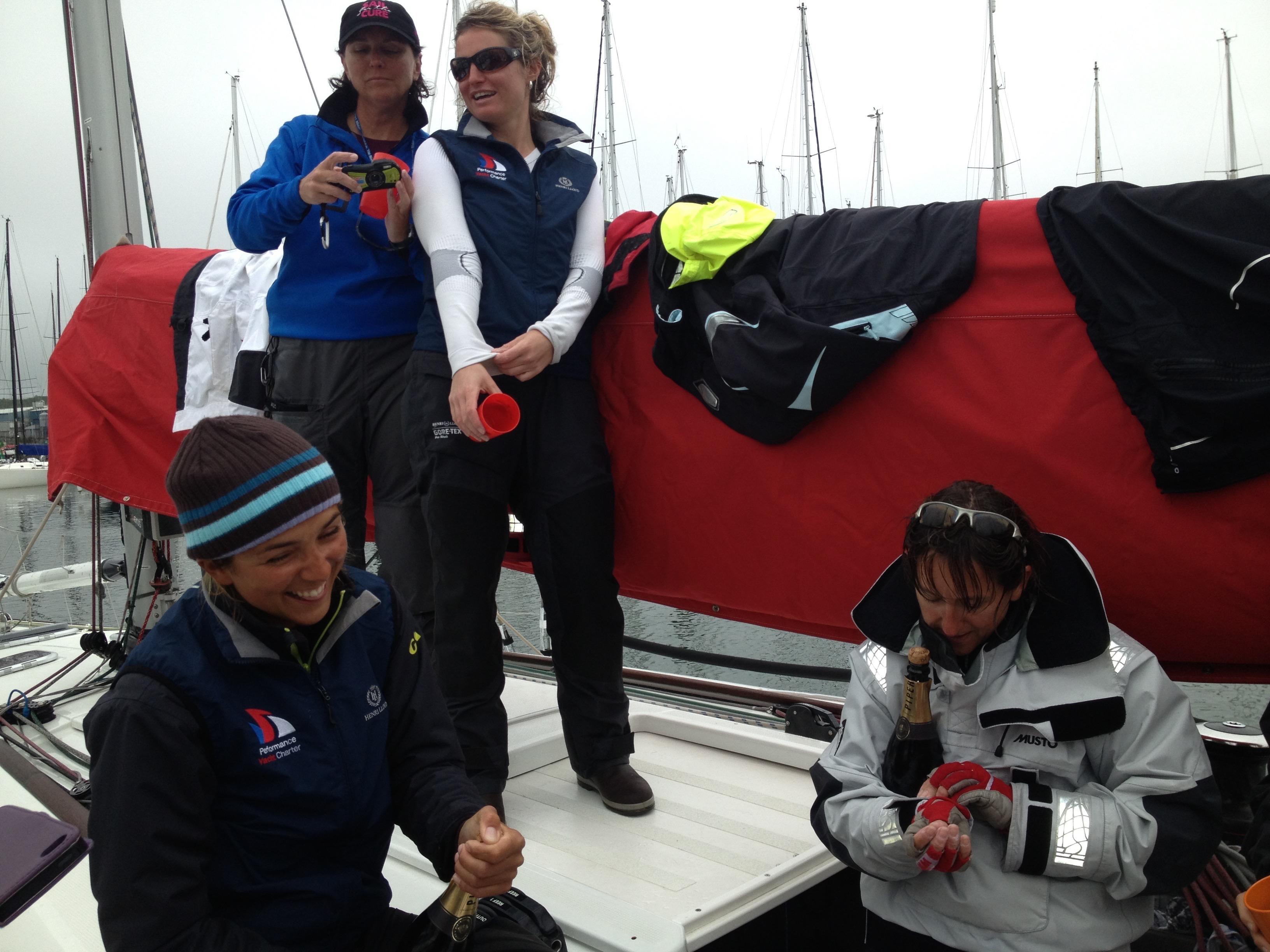 Women in the 2019 Rolex Fastnet Race