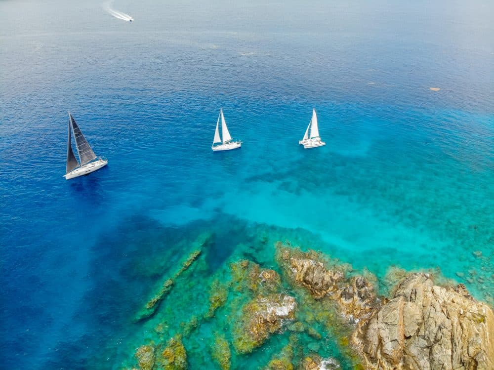 Warm Crystal Blue Waters, Premier Racing & Hot Winds – The BVI Spring Regatta