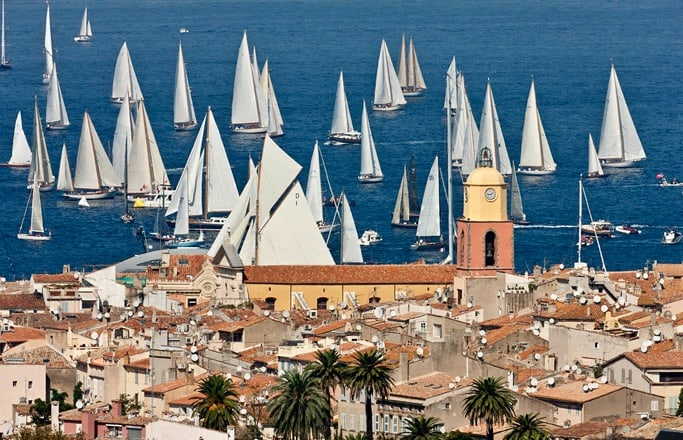 Something to look forward to, Les Voiles de St Tropez!