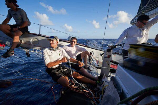 Ultime Emotion - Trimaran crew sailing